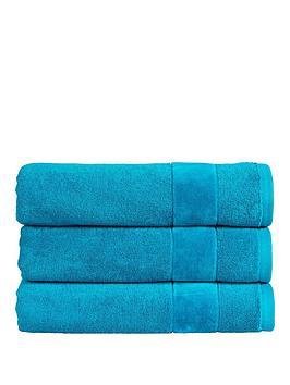 Photo of Christy prism vibrant plain dye turkish cotton bath sheet 550gsm - bath sheet