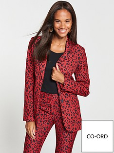 v-by-very-animal-print-suit-jacket