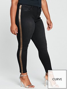 v-by-very-curve-leopard-side-trim-jean