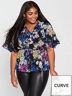 v-by-very-curve-wrap-kimono-sleeve-blouse-print