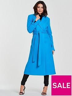 michelle-keegan-longline-wrap-formal-coat-blue