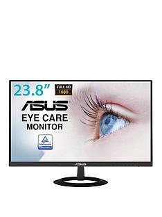 asus-vz249he-eye-care-monitor-238in-full-hd-ips-ultra-slim-frameless-flicker-free-blue-light-filter