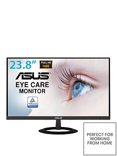 asus-vz249he-eye-care-monitor-238in-full-hd-ips-ultra-slim-frameless-flicker-free-blue-light-filter