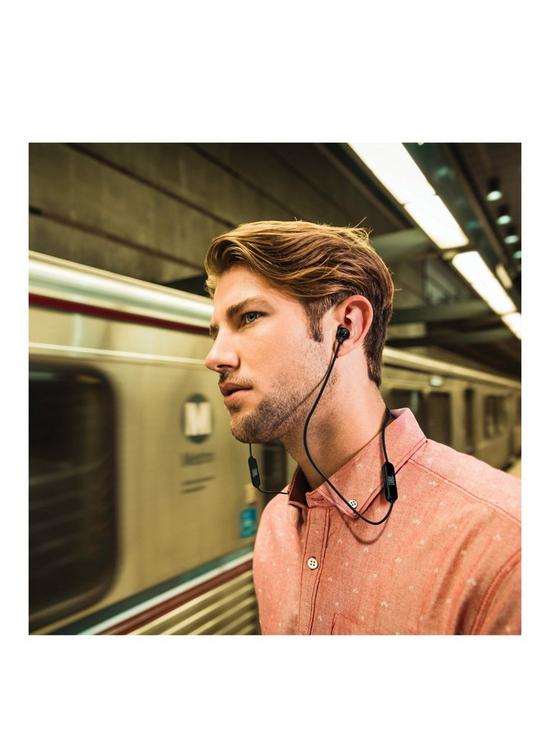 T110BT Bluetooth Wireless Neckband Design In-Ear Canal Headphones with JBL  Pure Bass Sound, 3-Button Remote & Mic and 6 Hour Playback Time - Black