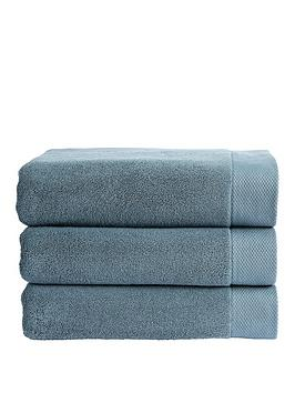 Photo of Christy luxe super soft luxury turkish cotton hand towel 730gsm - bath towel