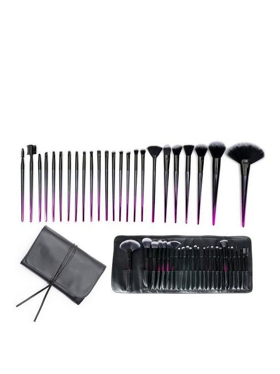 Rio Rio Stiletto Ombre 24pc Makeup Brush Collection
