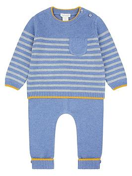 monsoon-newborn-benny-blue-knitted-set
