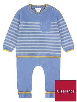 monsoon-newborn-benny-blue-knitted-set