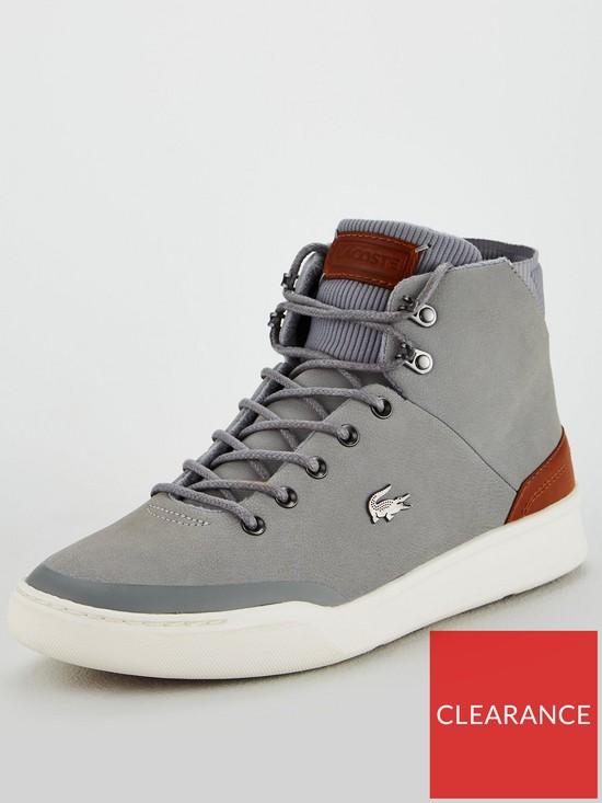 94f5389dfd1fe Lacoste Explorateur Boots - Grey