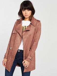 river-island-trench-coat-pink
