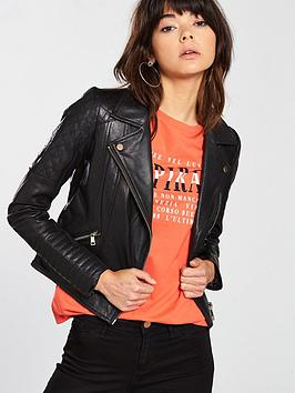 river-island-river-island-quilted-shoulder-leather-jacket-black