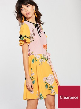 river-island-printed-tea-dress-multi