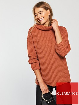 v-by-very-funnel-neck-jumper-rustnbsp