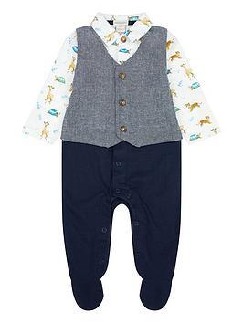 monsoon-newborn-jungle-waistcoat-set