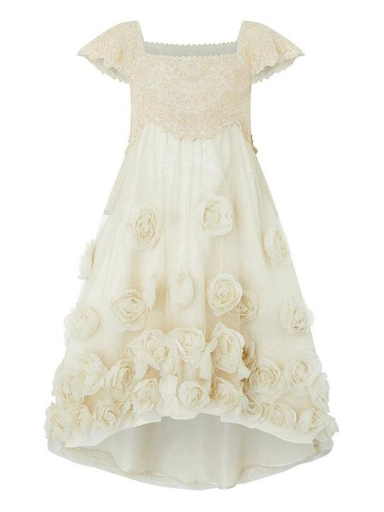 fca66e493d8 Monsoon Estella Roses High-Low Dress