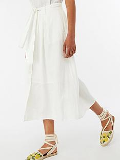 monsoon-iris-linen-skirt-white