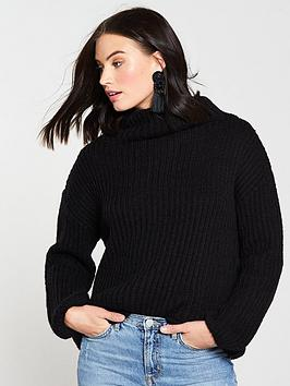 v-by-very-funnel-neck-jumper-blacknbsp