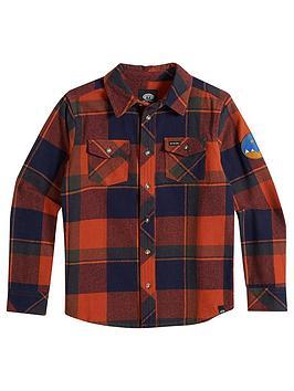 animal-boys-lumbert-check-shirt