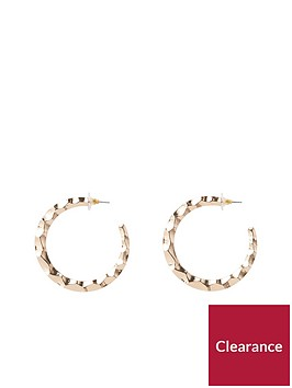 river-island-large-hoop-earring-gold