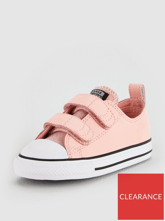 56f5f401a134 ... Converse Converse Chuck Taylor All Star 2v Glitter Infant - Ox. View  larger