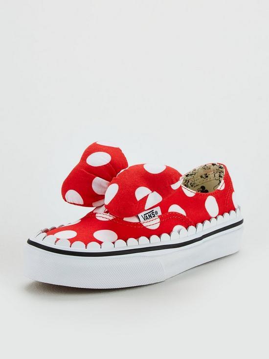 5fb82275c8 Vans Vans Disney Minnie Bow Authentic Children Trainer