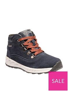 regatta-grimshaw-mid-suede-junior-walking-boot-navy