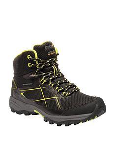 Regatta Kota Mid Junior Walking Boot - Black 1edbd01b94b