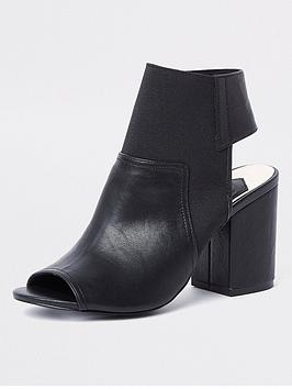 river-island-block-heel-shoe-boots-black