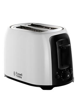 Russell Hobbs White My Breakfast 2 Slice Toaster – 25210