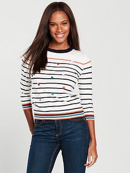 oasis-heart-embroidered-stripe-knitted-jumper-neutral