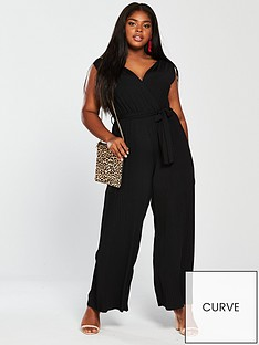 ax-paris-curve-pleat-jumpsuit-black