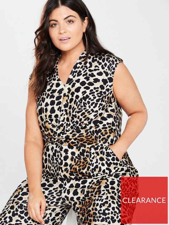 3bee3b7bfa6 ... AX PARIS CURVE Curve Culotte Jumpsuit - Leopard Print. 2 people have  looked at this in the last couple of hrs.