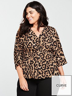 ax-paris-curve-leopard-print-top