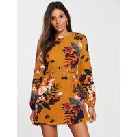 64114eb289d0fd ax-paris-floral-printed-crochet-waist-dress by ax-