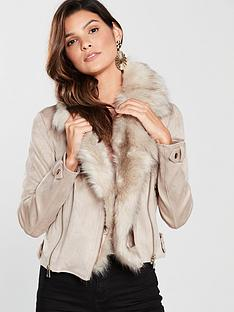 river-island-river-island-detachable-faux-fur-collar-biker-stone