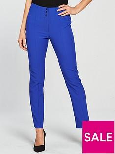v-by-very-slim-leg-high-waistednbsptrouser-blue