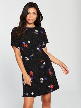 warehouse-scatter-floral-dress-multi
