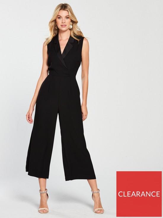 4650c50504 Warehouse Tuxedo Jumpsuit - Navy