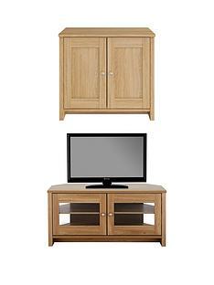 consort-tivoli-new-2-piece-package-ready-assembled-2-door-sideboard-and-corner-tv-unit-oak-effect