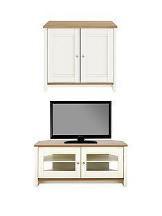 consort-tivolinbspnew-2-piece-package-ready-assembled-2-door-sideboard-and-corner-tv-unit-creamoak-effect