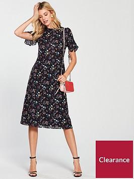 oasis-high-neck-midi-dress-ditsy-floral-print