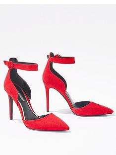 miss-selfridge-ankle-strap-court-shoe-red