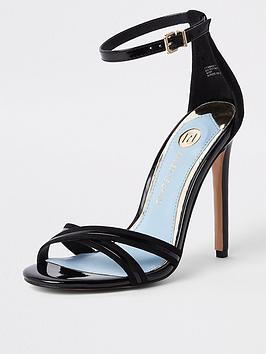 river-island-river-island-cross-strap-barely-there-heel-sandals-black