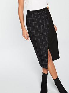 v-by-very-wrap-pencil-skirt-monochrome