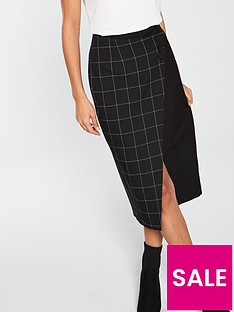 v-by-very-wrap-pencil-skirt-monochrome