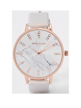 river-island-river-island-glitter-marble-dial-watch-grey
