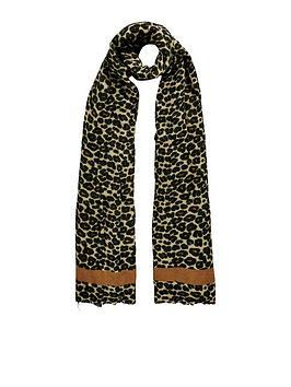 warehouse-leopard-print-blanket-scarf
