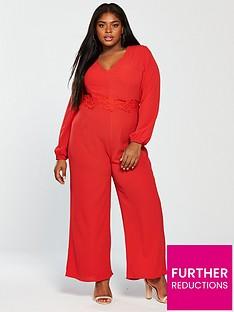 ax-paris-curve-curve-crochet-jumpsuit-red