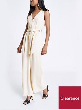 ri-petite-sleeveless-jumpsuit-stone