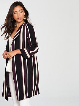 wallis-berry-stripe-duster-black